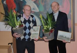 Karl-Erik Mitts och Matts Andersén