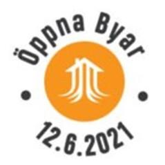 Öppna byar 2021 - logo