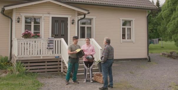 Finlands Byar - skärmklipp från del 1 om flyttning till landet